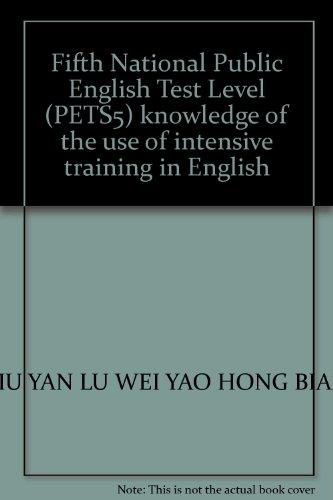 Fifth National Public English Test Level (PETS5): LIU YAN LU