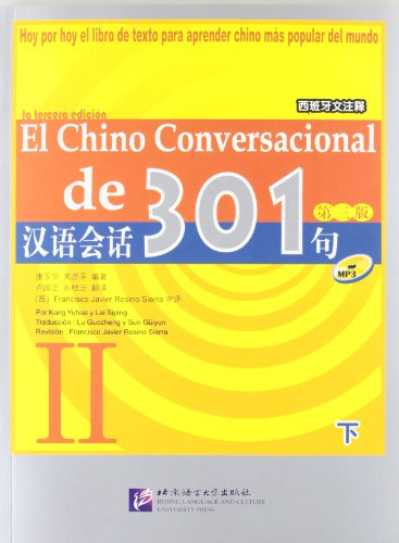 9787561920183: El Chino Conversacional De 301 Vol. 2 (Spanish Language)