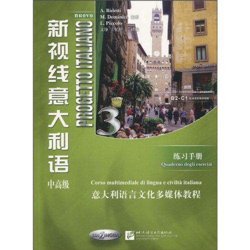 9787561928097: Workbook-New Vision Italian-Intermediate Advanced (Chinese Edition)