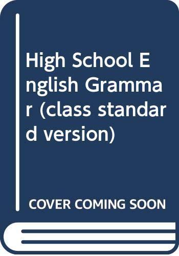 High School English Grammar (class standard version)(Chinese Edition): ZHU HUI QIN