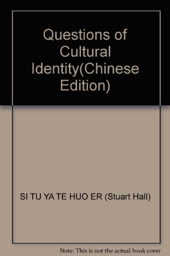 9787564901516: Questions of Cultural Identity(Chinese Edition)