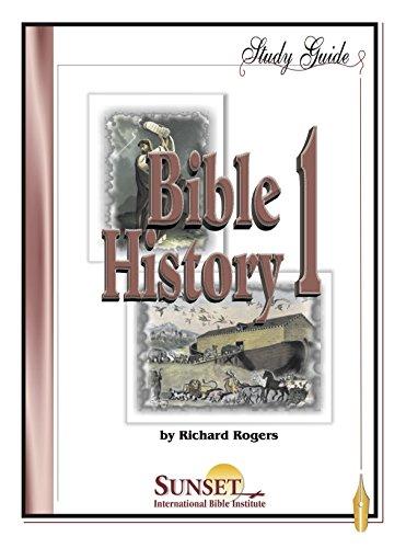 9787770048975: Bible History 1: Genesis Through Deuteronomy - Study Guide