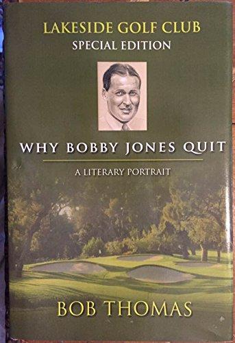 9787770063619: Why Bobby Jones Quit