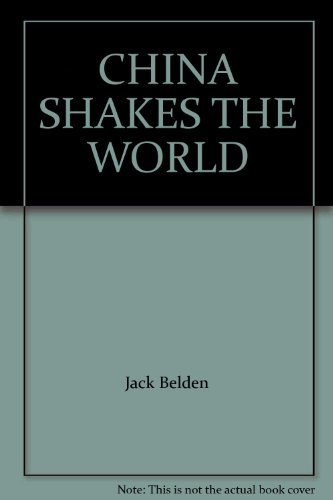 9787800051012: CHINA SHAKES THE WORLD