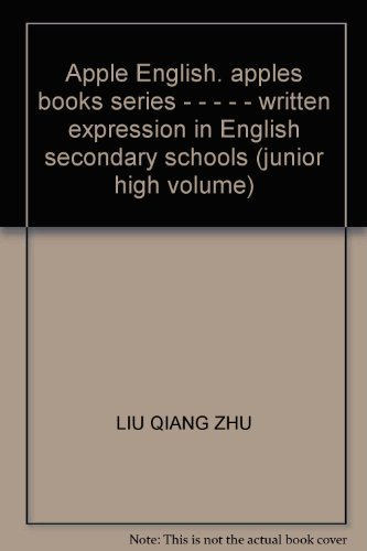 Apple English. apples books series - -: LIU QIANG ZHU