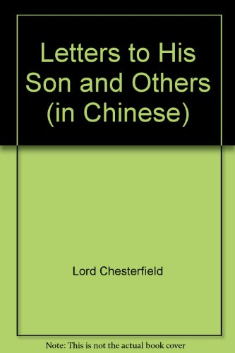 lord chesterfield letter to his son