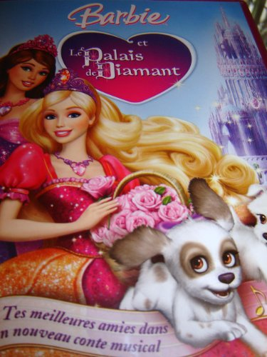 9787801914422: Barbie et le palais de diamants / Barbie and The Diamond Castle / REGION 2 PAL DVD / Audio: English, French, Dutch / Starred by Kelly Sheridan / Written by Cliff Ruby, Elana Lesser / Directed by Gino Nichele