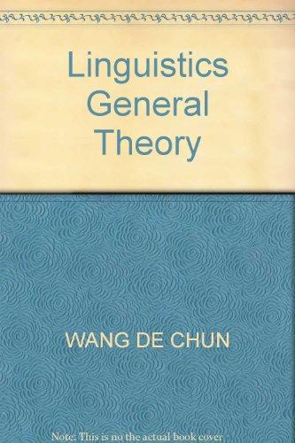 9787807199878: Linguistics General Theory
