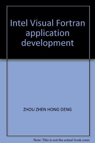 9787807341291: Intel Visual Fortran application development