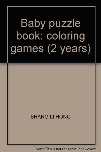 9787807579199: Baby puzzle book: coloring games (2 years)