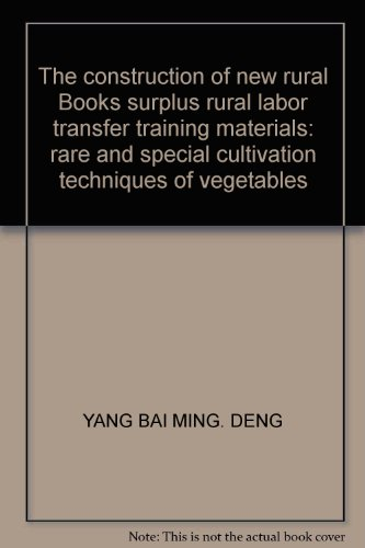 Genuine Books Books 9787807626206 new countryside construction of rural surplus labor transfer ...
