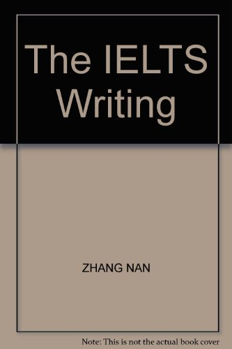 9787810386760: The IELTS Writing