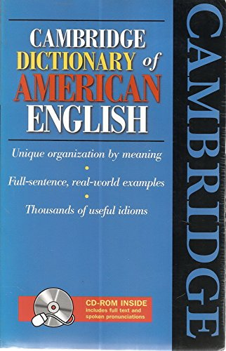 9787810468305: Cambridge Dictionary of American English.