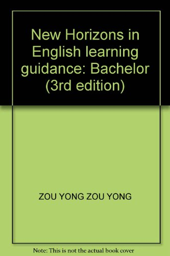 9787810886215: New Horizons in English learning guidance: Bachelor (3rd edition)