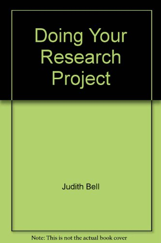9787810951760: Doing Your Research Project