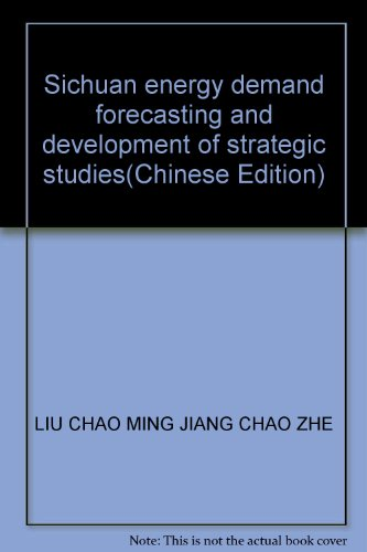Sichuan energy demand forecasting and development of: LIU CHAO MING
