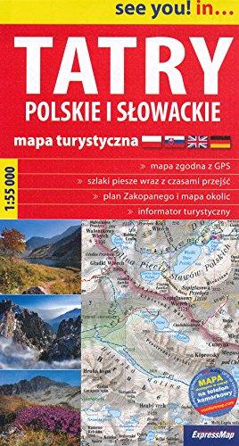 9787883754626: Tatra Mountains (Slovakia, Poland) 1:55 000 trekking map TQ