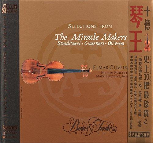 9787884814381: The Miracle Makers - Stradivari, Guarneri, Oliveira (20bit K2 Version)