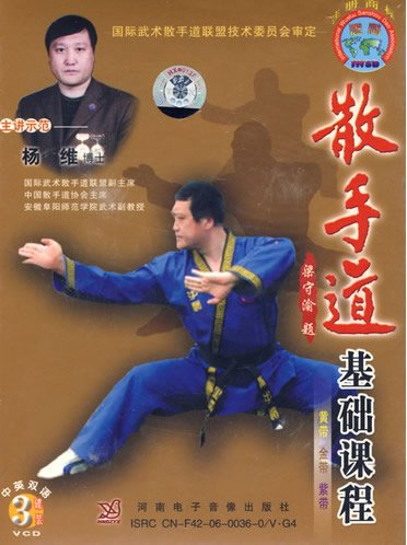 9787885095963: The Sanshou Road Foundation Course - 3 disc genuine VCD-bilingual(Chinese Edition)