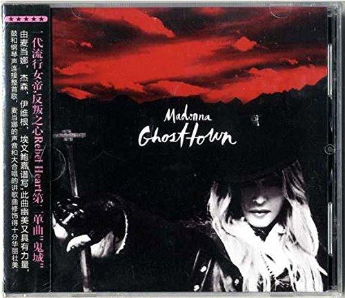 9787885320072: Madonna - GHOSTTOWN / CD SINGLE 10 REMIXES / CHINA 2015