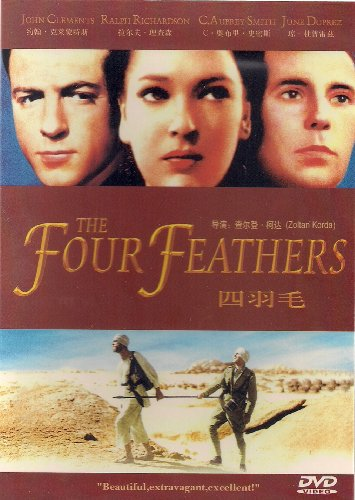 9787885726775: THE FOUR FEATHERS (1939) HIGH QUALITY Directed by Zoltan Korda (IMPORTED FOR ALL REGIONS)