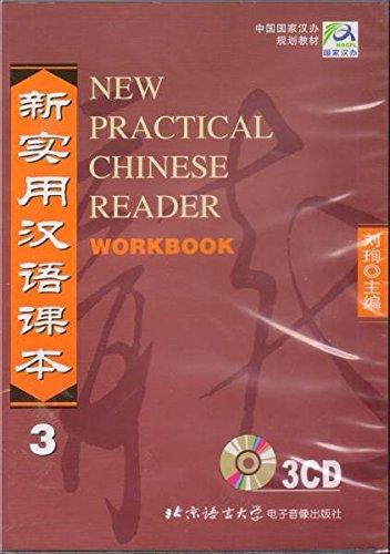 NEW PRACT.CHINESE RDR.:V.3-WKBK.+3 CDS
