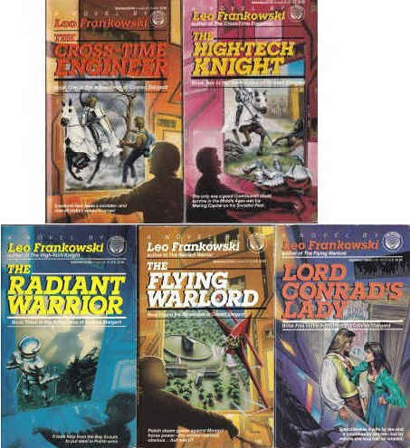 9787890100782: The Adventures of Conrad Stargard: 5-volume Set (The Cross-time Engineer, The High-Tech Knight, The Radiant Warrior, The Flying Warlord, Lord Conrad's Lady)