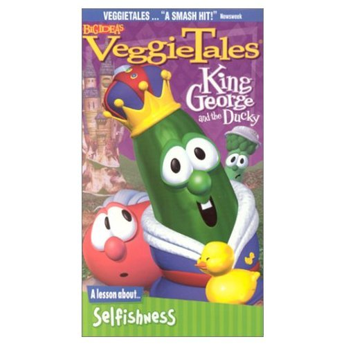9788015397698: King George and the Ducky: A Lesson about Selfishness [VHS]