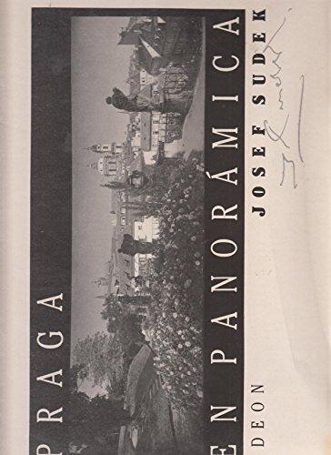 9788020703644: Praga En Panoramica Josef Sudek