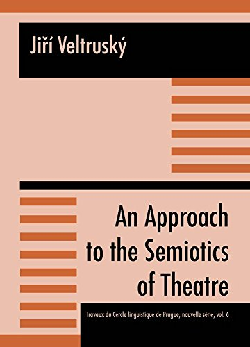 9788021059092: An Approach to the Semiotics of Theatre