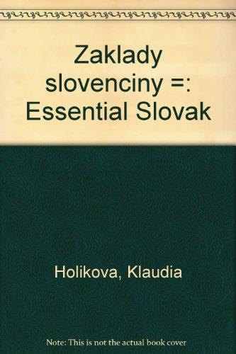 9788021801790: Základy slovenčiny =: Essential Slovak
