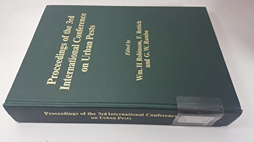 9788023842579: Proceedings of the 3rd International Conference on Urban Pests
