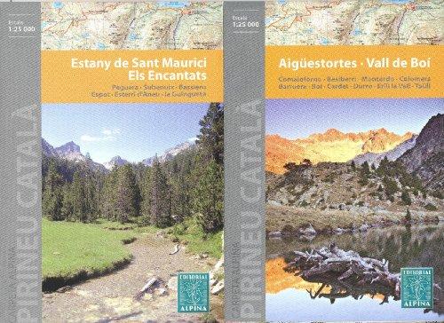 9788025310977: Aigüestortes & Estany de Sant Maurici National Park (Pyrenees, Spain) 1:25,000 Trekking Map ALPINA