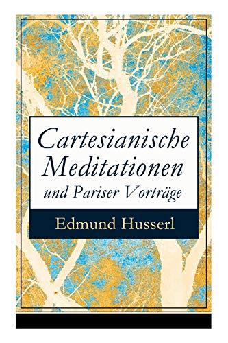 9788027310326: Cartesianische Meditationen und Pariser Vorträge: Eine Einleitung in die Phänomenologie