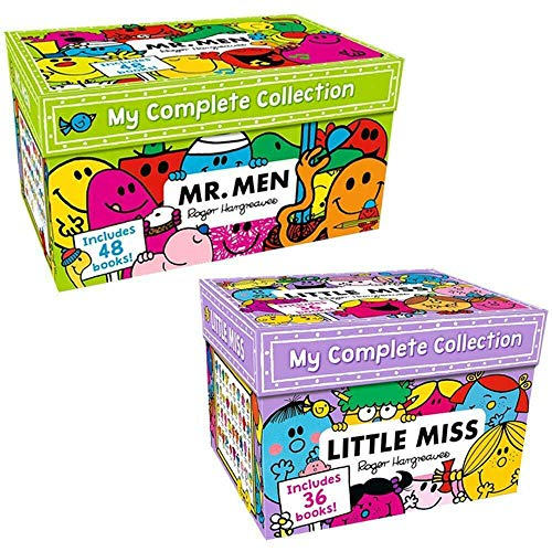 9788033654209: Mr Men & Little Miss 83 Books The Complete Collection Gift Box Set Roger Harg...