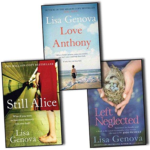 9788033655909: Lisa Genova 3 Books Collection Pack Set (Love Anthony, Still Alice, Left Neglected)