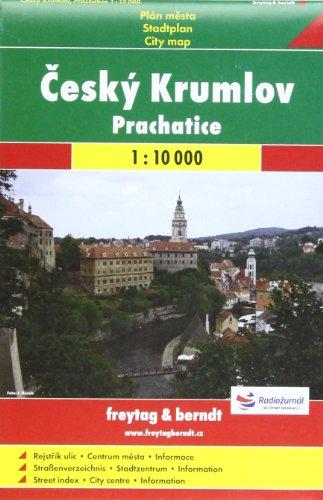 9788072240739: Cesky Krumlov, Prachatice 1:10 000: Shocart Stadtplan