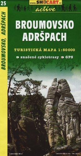 9788072243327: SC 025 Broumovsko, Adrspach 1:50T: Shocart Wanderkarte