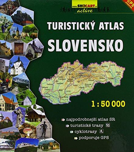 9788072245048: Slovensko Turisticky Atlas 1:50.000 A4: Shocart Atlas