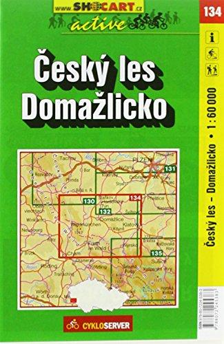 SC 134 Cesky les, Domazlicko 1:60 000