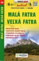 9788072245925: SC 226 Mala Fatra, Velka Fatra 1 : 100 000: Shocart Wanderkarte