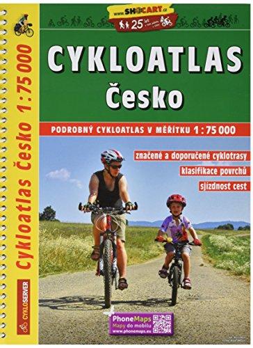9788072246267: Cesko Cykloatlas 1:75.000 A4: Shocart Radatlas