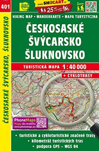Wanderkarte Tschechien Ceskosaske Svycarsko, Sluknovsko 1 :