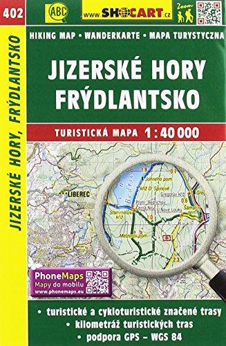 Wanderkarte Tschechien Jizerske hory, Frydlantsko 1 :