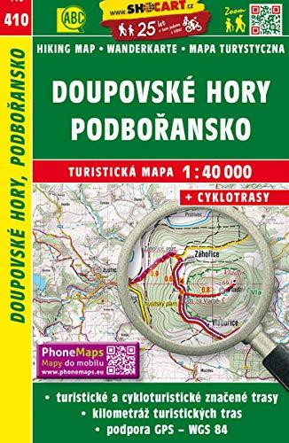 Wanderkarte Tschechien Doupovske hory, Podboransko 1 :
