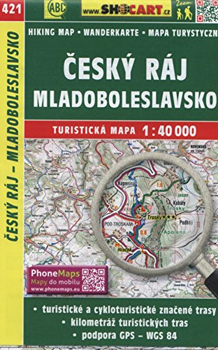 Wanderkarte Tschechien Cesky raj, Mladobleslavsko 1 :