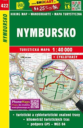 Wanderkarte Tschechien Nymbursko 1 : 40 000:
