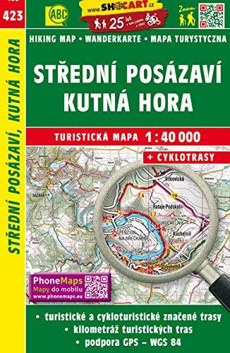 Stredni Posazavi, Kutna Hora: Turisticke Mapy Cesko
