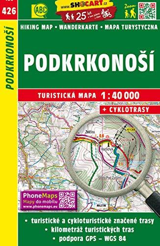 Wanderkarte Tschechien Podkrkonosi 1 : 40 000: