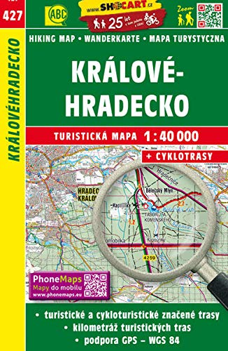 Wanderkarte Tschechien Kralovehradecko 1 : 40 000: